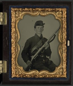 unidentified Union soldier