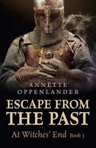 cover image for Escape from the Past, At Witches' End, book 3