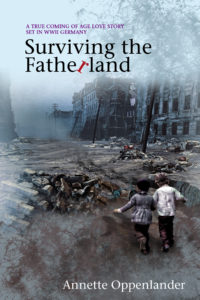 book cover surviving the fatherland by annette oppenlander