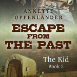 cover for historical teen novel escape from the past: the kid