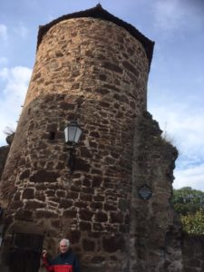 medieval tower in Rotenburg