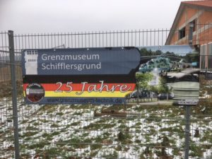 Sign of museum