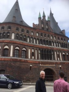 holsten gate in Lübeck