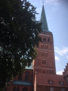 brick church in Lübeck