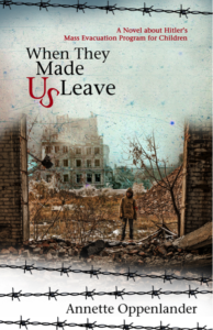WWII book cover by annette oppenlander