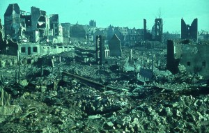 Solingen, Germany after the two-day bombing in November, 1944.
