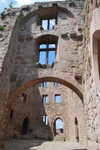 Castle Hanstein ruins