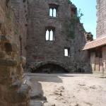 Castle Hanstein ruins near Bornhagen, Germany