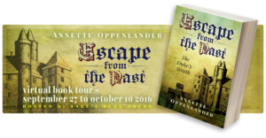banner for blog tour of escape from the past: the duke's wrath