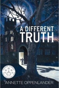 A Different Truth cover with sticker