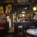 The Old Bar at the Klausenhof Inn, Bornhagen, Germany