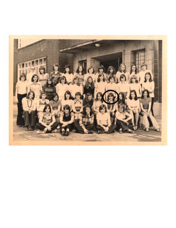 class photo ADS, Solingen in 1973