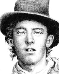 Billy the Kid drawing