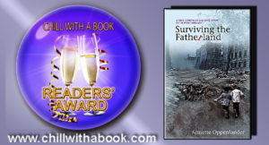 Chill with a book award for Surviving the Fatherland