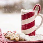 holiday mug and cookie