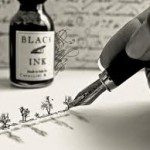 pen writing creating images