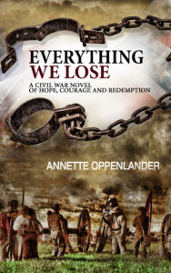 book cover image of everything we lose by annette oppenlander