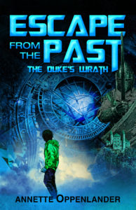 time-travel cover for young adult novel