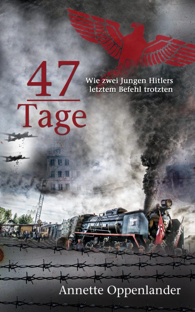 cover von historischer novelle 47 Tage