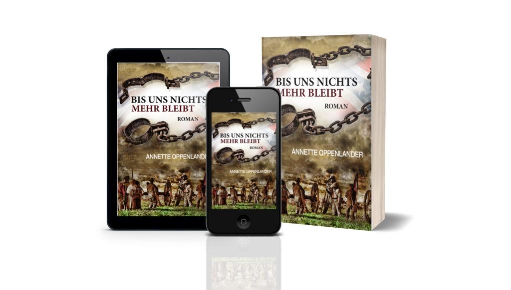 Buch cover Bürgerkriegsroman