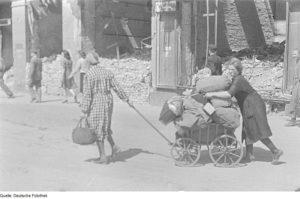 German refugees after the war