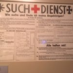 search service Red Cross poster
