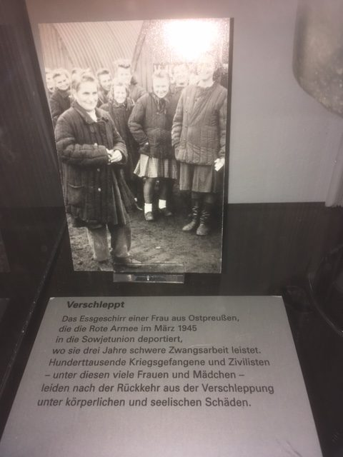 by the Red Army deported women