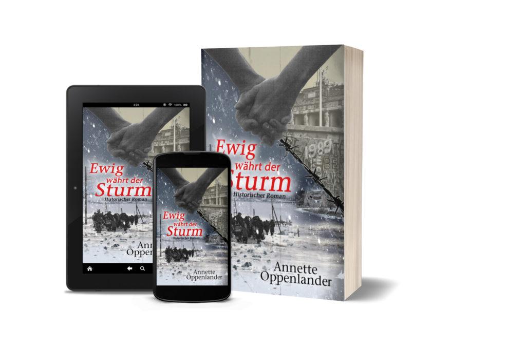 Buch cover für 2. Weltkriegsroman Vertriebene